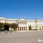 Администрация Смоленской области на площади Ленина