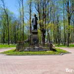 Памятник Глинке в одноименном саду